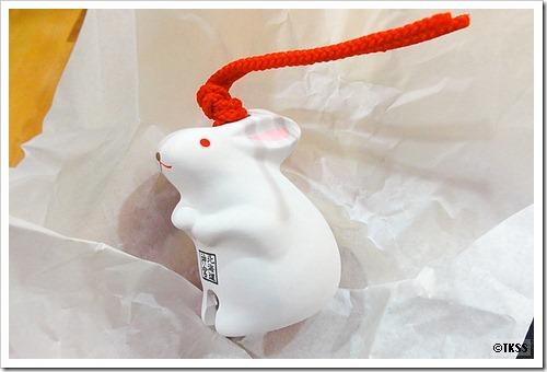ウサギの土鈴