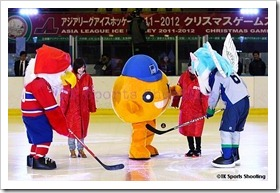 ASIA LEAGUE ICE HOCKEY2011-2012 X'mas Games in SAPPORO 2日目
