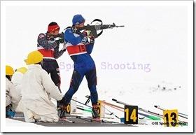 第82回宮様スキー大会国際競技会バイアスロン競技1日目