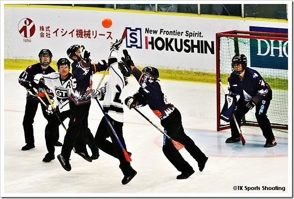 ブルームボール世界大会 2014 in 苫小牧