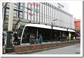 札幌市路面電車新型低床車両A1200形