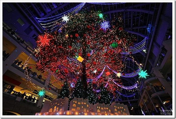 2014 サッポロファクトリー ジャンボクリスマスツリー点灯式