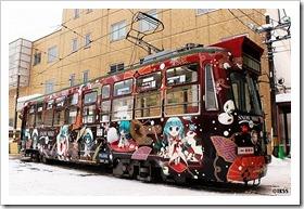 雪ミク電車2012