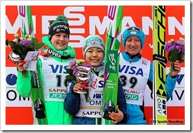 FISジャンプワールドカップレディース2016札幌大会
