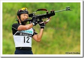 第24回サマーバイアスロン日本選手権大会初日
