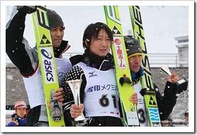 第52回NHK杯ジャンプ大会男子表彰