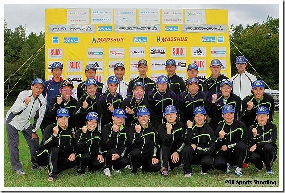 2011-2012 バイアスロン第1次海外派遣選手