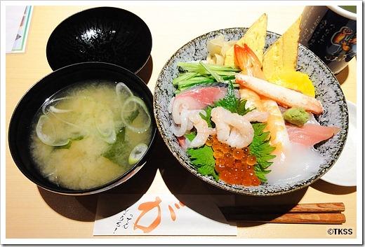 海鮮丼 江戸前がってん寿司
