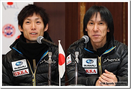 伊東大貴、葛西紀明 FISジャンプワールドカップ2011札幌大会記者会見