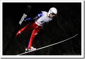 第18回伊藤杯シーズンファイナル大倉山ナイタージャンプ大会:佐藤幸椰