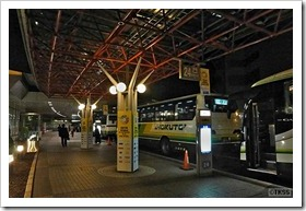 新千歳空港バス乗り場