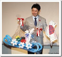 ソチ五輪リュージュ競技日本代表選手壮行会
