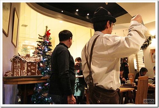 クリスマス小樽ビール倶楽部@Leibspeise(ライブシュパイゼ)
