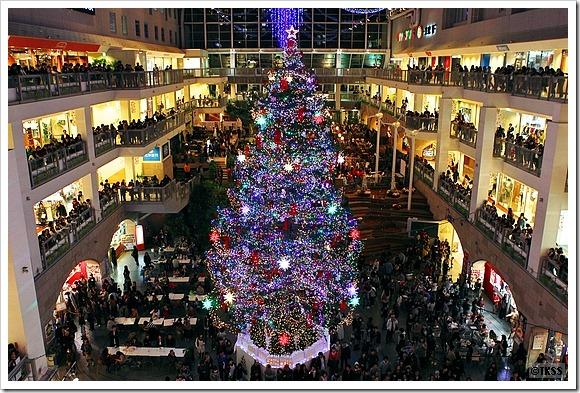 2011 ジャンボクリスマスツリー点灯式@サッポロファクトリー