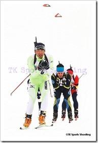 第82回宮様スキー大会国際競技会バイアスロン競技2日目