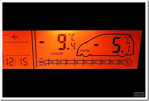 車載温度計