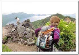恵庭岳登山