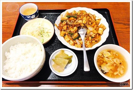 回鍋豆腐定食 漢華林