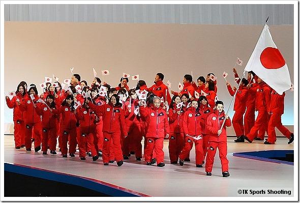 冬季アジア札幌大会開会式