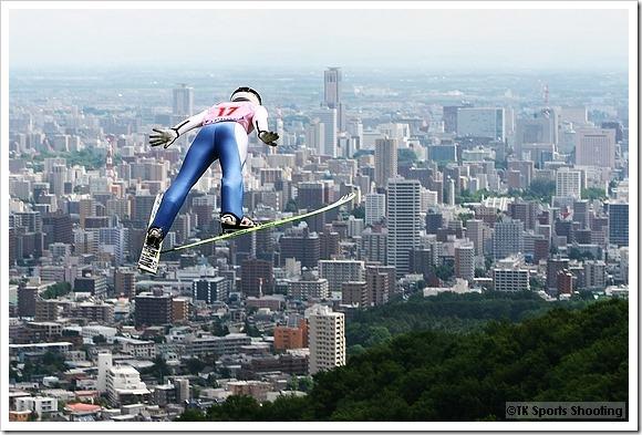 第14回札幌市長杯大倉山サマージャンプ大会 伊藤有希