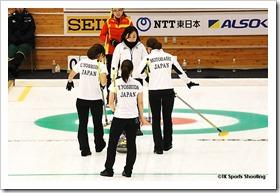 第8回札幌冬季アジア大会3日目 女子カーリング