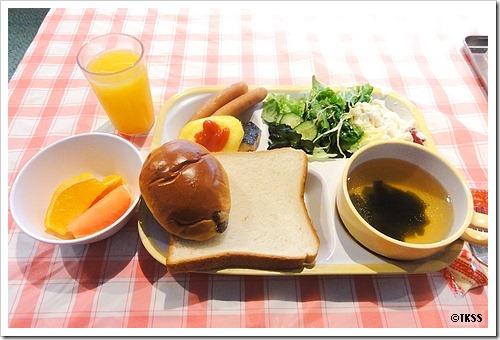 ヴィラフォンテーヌ六本木ANNEXのサービス朝食