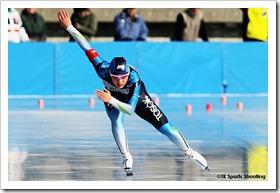 神谷衣理那 2010/2011 ジャパンカップスピードスケート競技会 第2戦