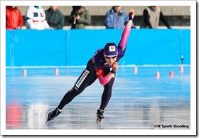 大菅小百合 2010/2011 ジャパンカップスピードスケート競技会 第2戦