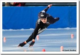 富岡幸弘 2010/2011 ジャパンカップスピードスケート競技会 第2戦