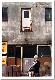 トマソン(高所ドア)@岩見沢