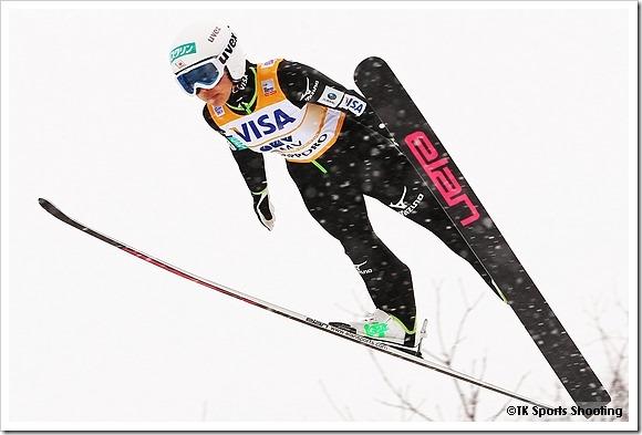 FISジャンプワールドカップレディース2014札幌大会 高梨沙羅