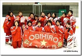 全道女子アイスホッケー大会決勝B(帯広レディース vs 真駒内レディース)
