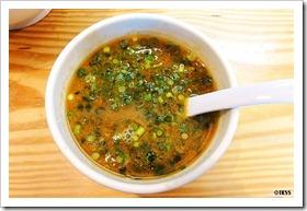 つけ麺スープ割り 侘助