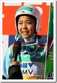 FISジャンプワールドカップレディース2015札幌大会:高梨沙羅