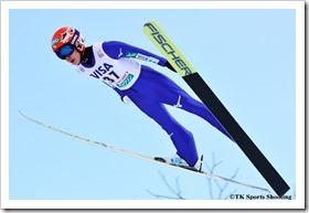 FISジャンプワールドカップレディース2018札幌大会 伊藤有希