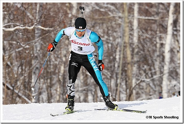 第8回札幌冬季アジア大会6日目 バイアスロン