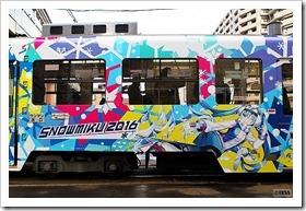 雪ミク電車2016
