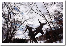 札幌芸術の森 野外美術館かんじきウォーク