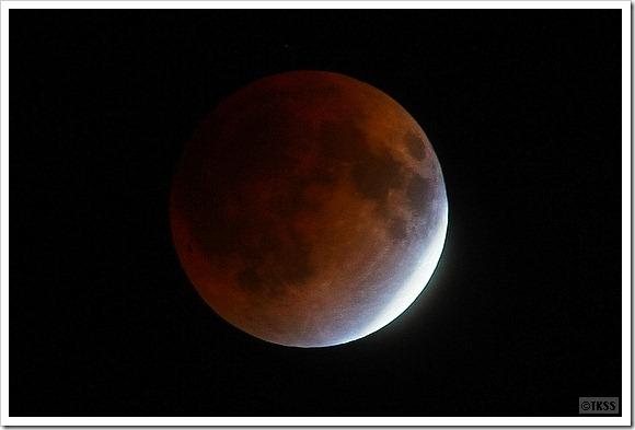 皆既月食 2011