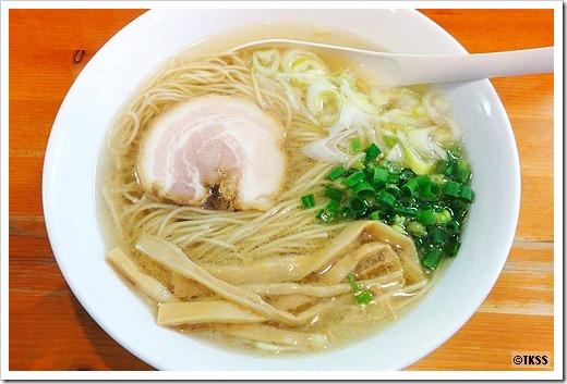 名古屋コーチンあっさり塩 麺屋菜々兵衛