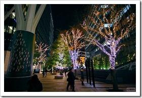 バンブーイルミネーション 東京ミッドタウン