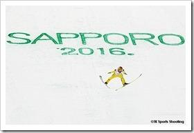 葛西紀明:2016ジャンプW杯札幌大会個人第15戦