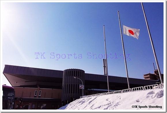 2012/03/11 月寒体育館