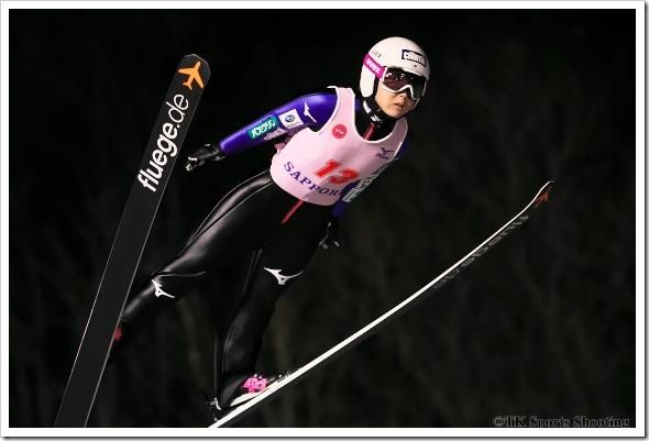 第19回伊藤杯シーズンファイナル大倉山ナイタージャンプ大会 茂野美咲