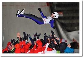 第19回伊藤杯シーズンファイナル大倉山ナイタージャンプ大会 斎藤翔太