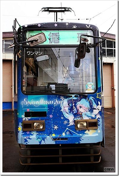 雪ミク電車2017