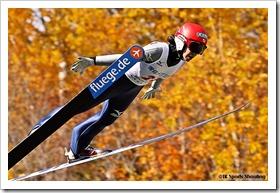 第94回全日本スキー選手権大会ジャンプラージヒル:岩渕香里