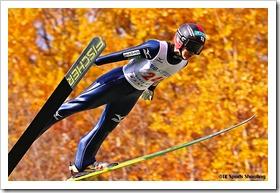 第94回全日本スキー選手権大会ジャンプラージヒル:伊藤有希