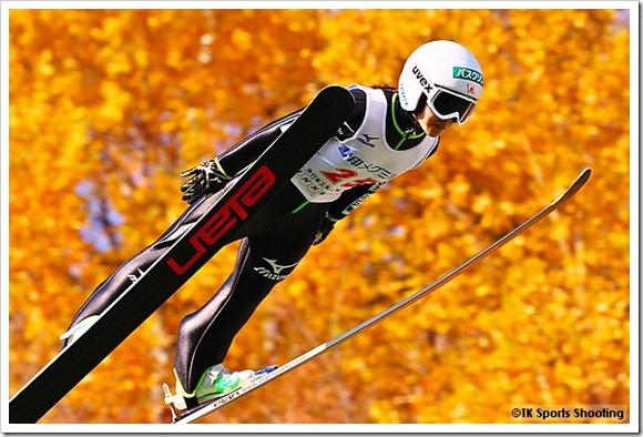 第94回全日本スキー選手権大会ジャンプラージヒル:高梨沙羅