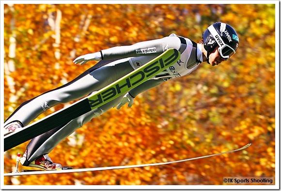 第94回全日本スキー選手権大会ジャンプラージヒル:作山憲斗